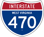 Interstate 470 in West Virginia
