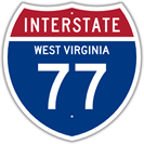 Interstate 77 in West Virginia