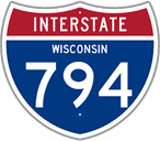 Interstate 794 in Wisconsin