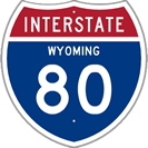 Interstate 80 in Wyoming
