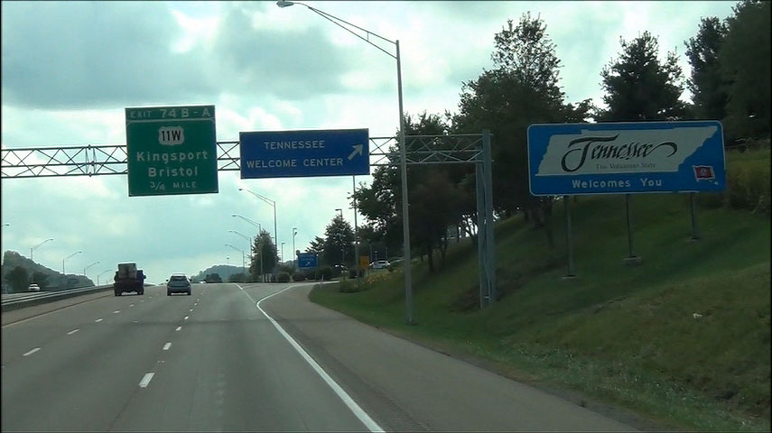 Photos: Tennessee - Interstate 81 Southbound | CrossCountryRoads