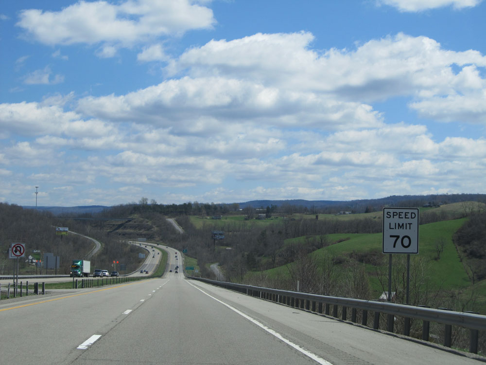 An analysis of state speed limit in virginias state and interstate highways