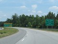 Approaching the first toll plaza 1/2 mile ahead, Palmetto Pass account holders are reminded to keep left while cash customers should keep right. (Photo taken 5/27/17).
